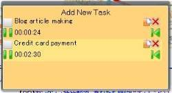 Task List and Timer